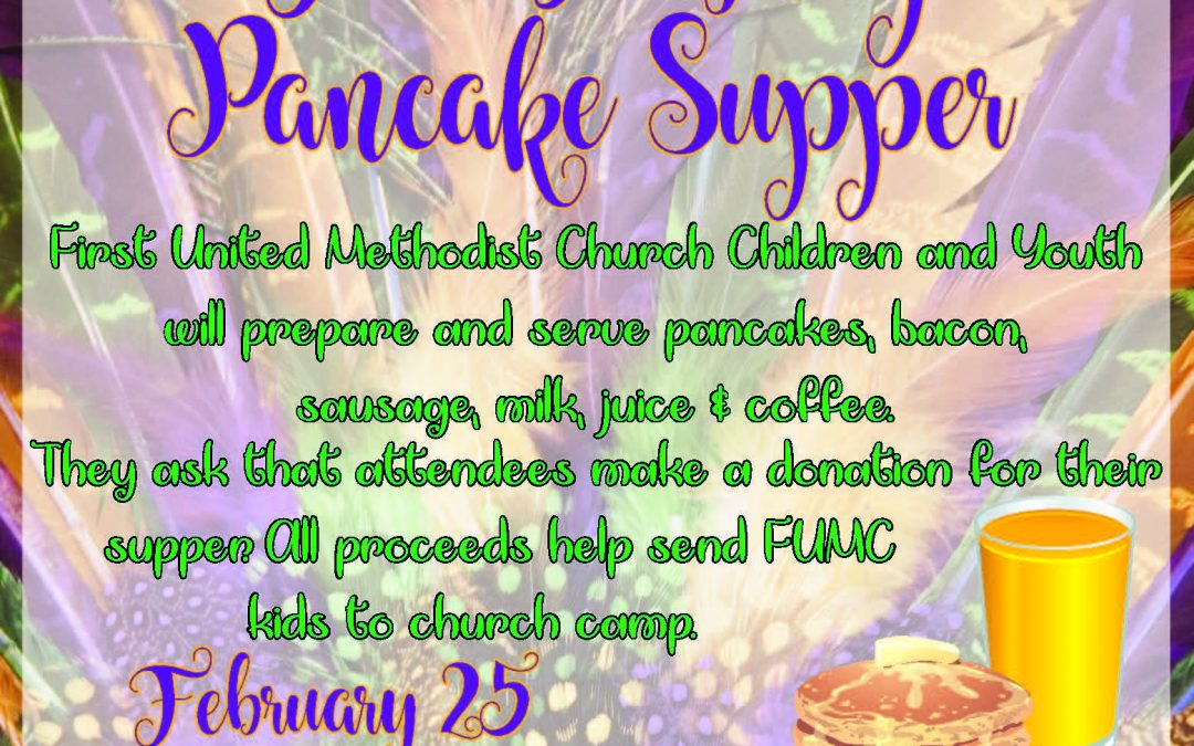 Fat Tuesday Pancake SUpper