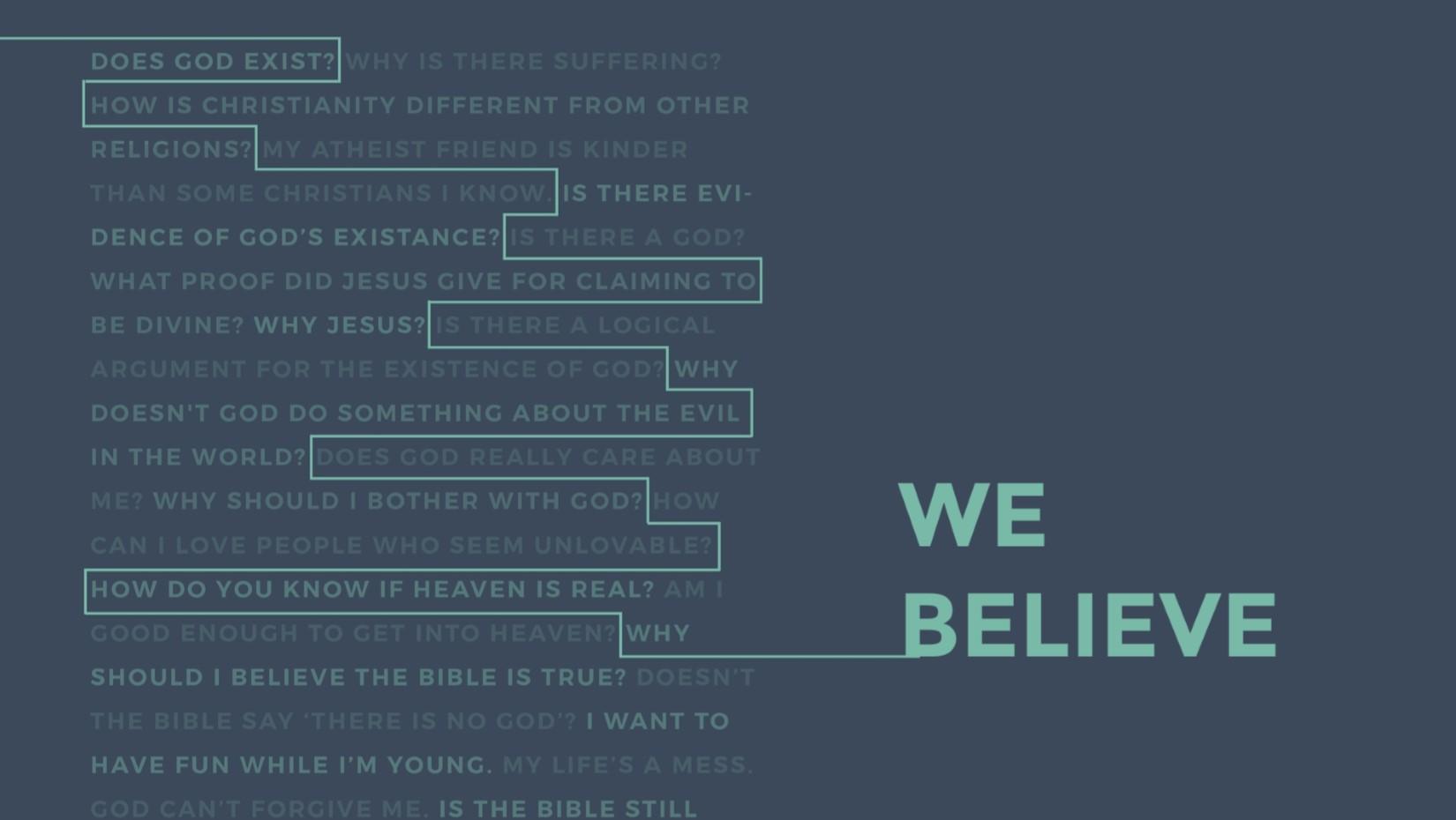 01 31 2021 We Believe: The Church