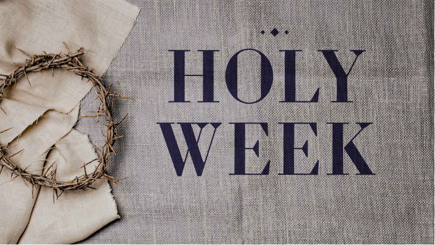 Holy Week Disciple Kids Devo